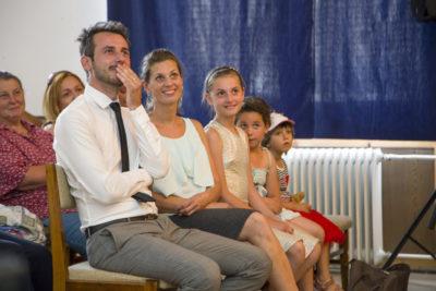 Floch Gábor és családja
