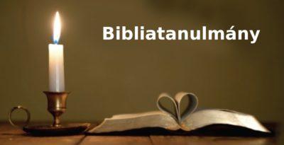 bibliatanulmany