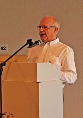 Tony Peck, az Európai Baptista Szövetség főtitkára Tallinban