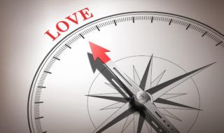 Illusztráció: A szeretet, iránytű