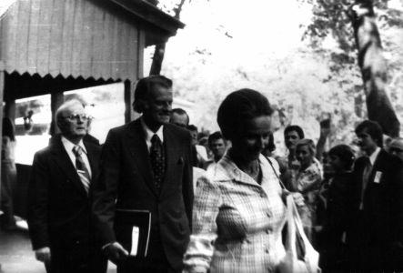 Billy Graham a táborban