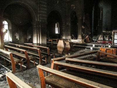 Romos iskolaépület St-joseph-church-in-Bartella-22-400x300
