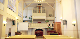 a Nap utcai imaház belső tere